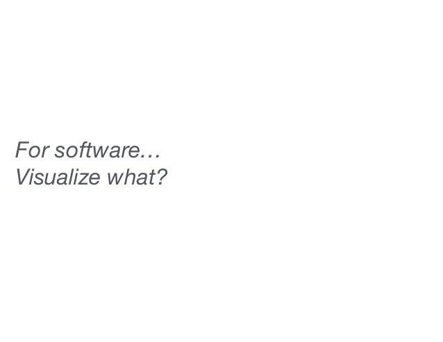 Visualization for Software Analytics Slide 3