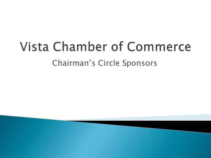 Chairman's Circle Sponsors