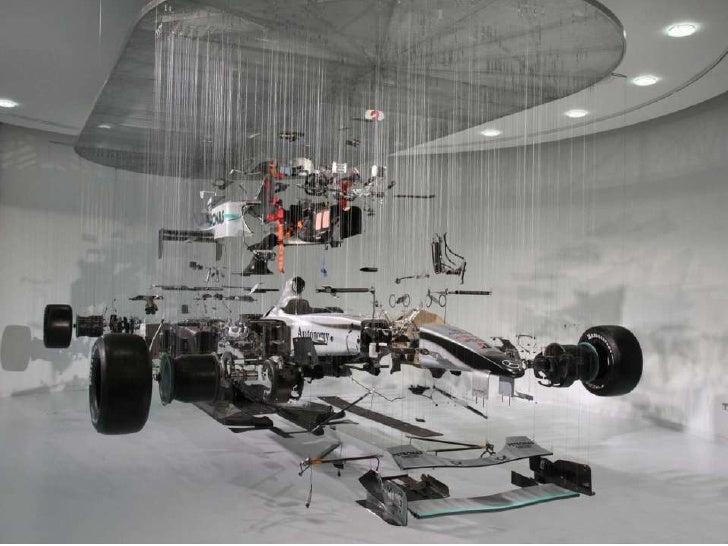 Vista explodida da McLaren fórmula1
