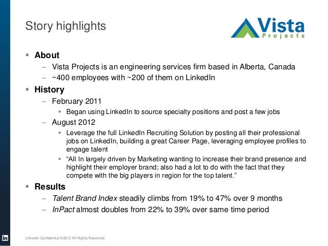 Story highlights About– Vista Projects is an engineering services firm based in Alberta, Canada– ~400 employees with ~200...