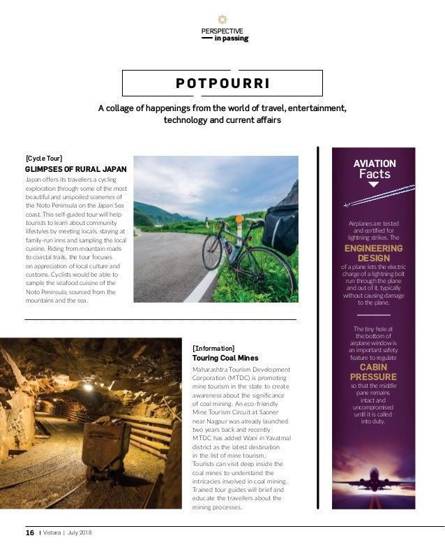 July 2018 Issue of Vistara - In-flight Magazine of Vistara