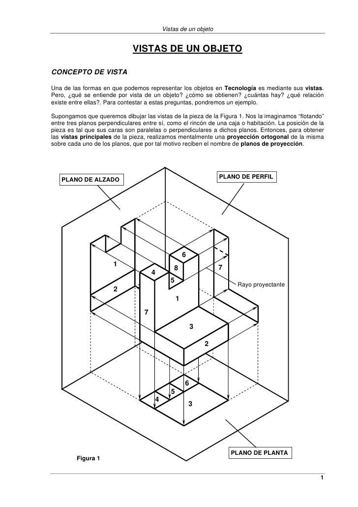 Vistas de un objeto                              VISTAS DE UN OBJETOCONCEPTO DE VISTAUna de las formas en que podemos repr...