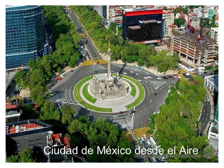 Ciudad de México desde el Aire