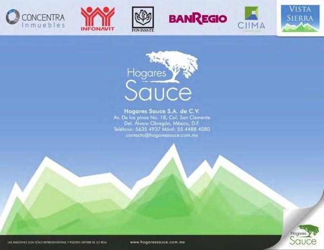 Vista Sierra - Hogares Sauce
