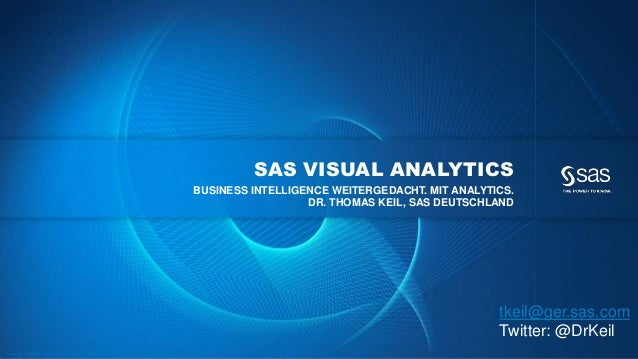 SAS VISUAL ANALYTICS                                                                                                BUSINE...