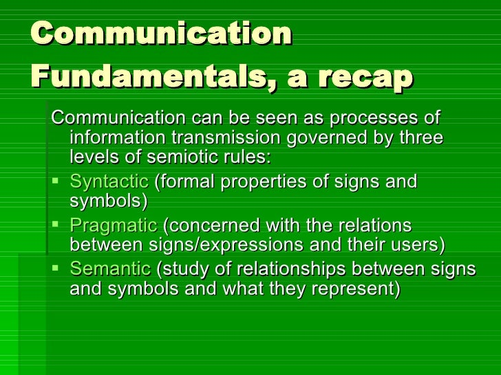 Visual Communication As Used In A Business Context