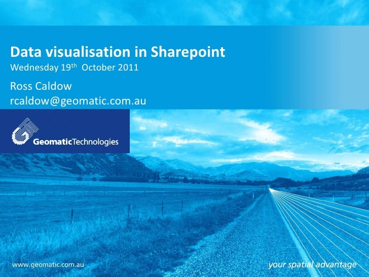 Data visualisation inOption 2GT's PowerPoint Template Sharepoint                              5b                          ...