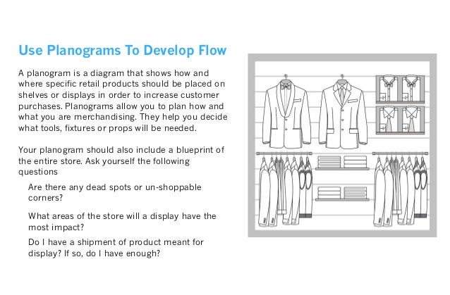 Understand Traffic Flow As you study the traffic flow, put yourself in your customer's shoes and absorb what they see. Outs...