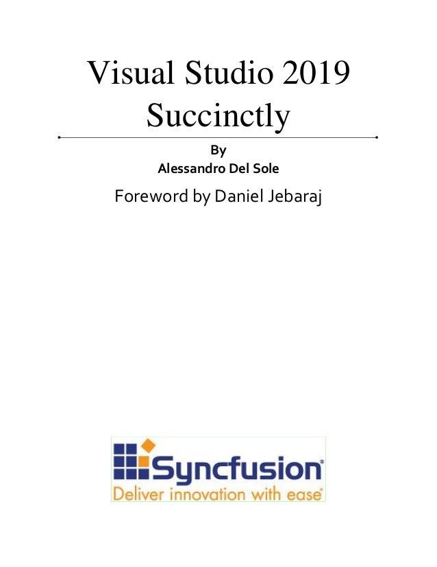 Visual studio-2019-succinctly Slide 2