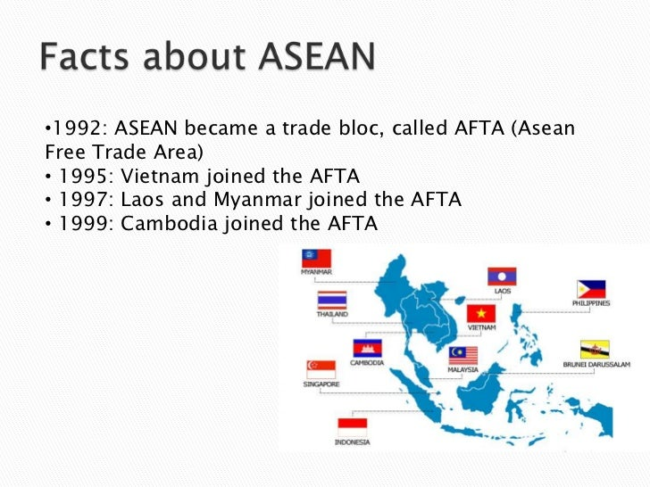 effects of afta cept on asean member Clothes without an emperor: analysis of the preferential tariffs in asean  (asean secretariat, cept tariff  the welfare effects of an asean free trade area:.