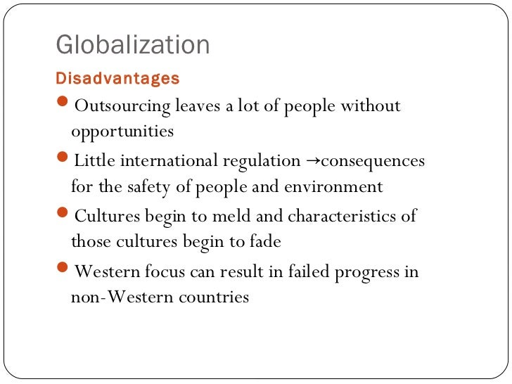 globalization of non-western countries essay Free essay: globalization, love it or hate it, but you can't escape it  more about the impacts of globalization on developing countries essays the impact of .