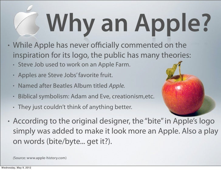 Visual Analysis of Apple