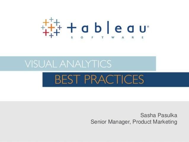 Sasha Pasulka Senior Manager, Product Marketing