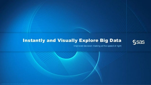 Instantly and Visually Explore Big Data                                                                                   ...