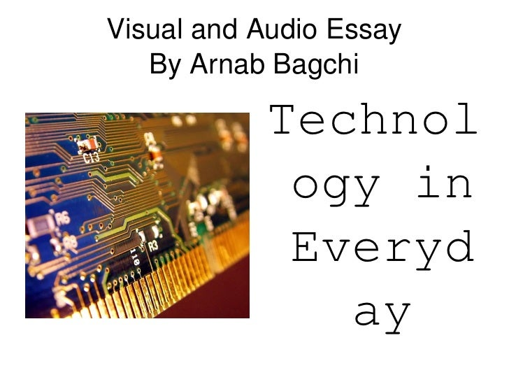 Essay on audio visual education