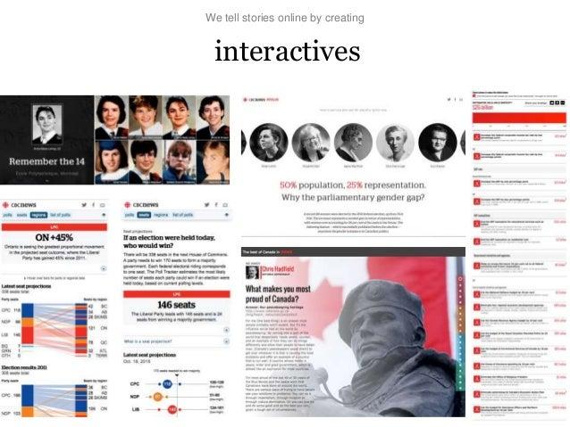 Visual and interactive storytelling slides cmg 2015-final