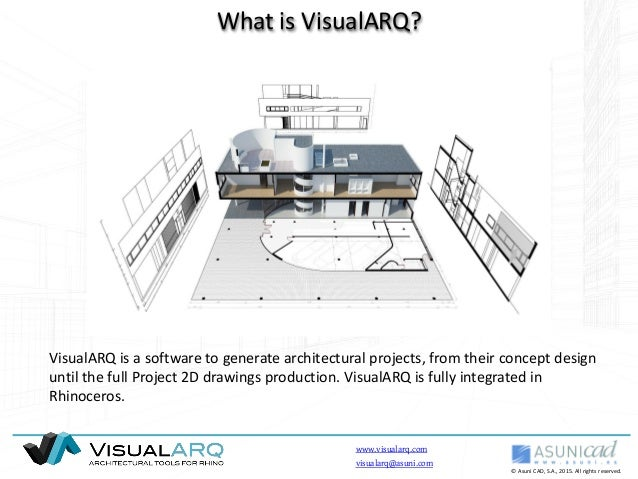 architecture 2d. visualarq english bim freeform 2d and 3d architecture modeling tools for rhinoceros 2d