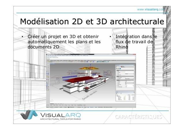 www.visualarq.com Modélisation 2D et 3D architecturaleModModéélisation 2D et 3D architecturalelisation 2D et 3D architectu...