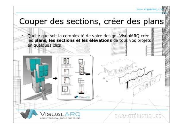 www.visualarq.com Couper des sections, créer des plansCouper des sections, crCouper des sections, crééer des planser des p...