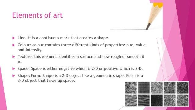 10 Elements Of Art : Visual art grade elementsofart and prinicples of design