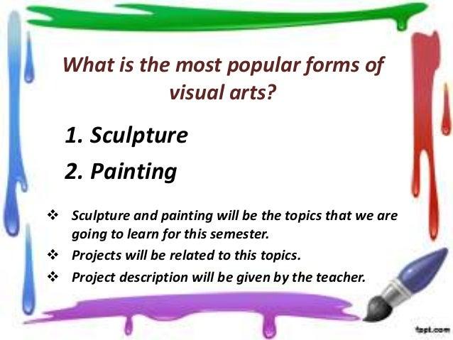 mediums of visual arts pdf