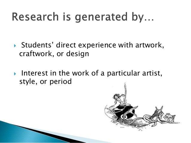 Art essay topics