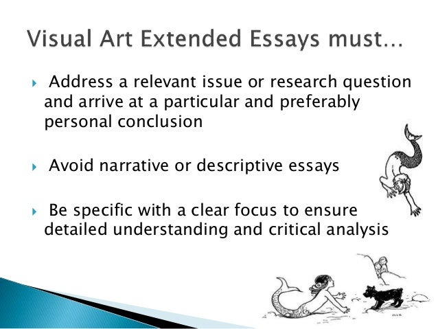 hsc visual art essays Hsc visual arts is complicated because there's very who they were and how/why they made art, meaning your essays will become far more complex and.