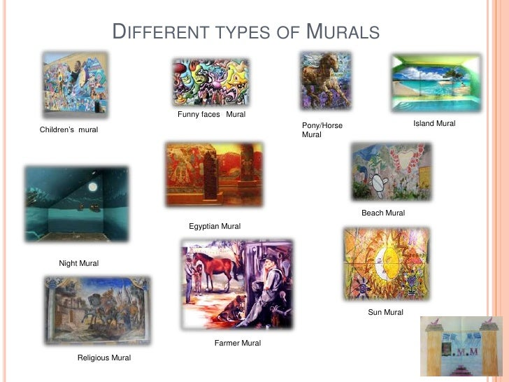 Different types of art forms