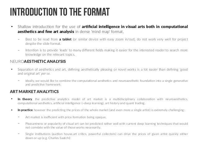 artificial intelligence for visual arts 2 638 - 50+ marketing director cv example uk artist genome art