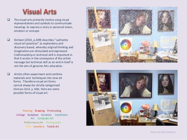 Arts And Elements : Visual arts design elements principles with original images