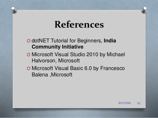 Visual Basic User Interface-VI