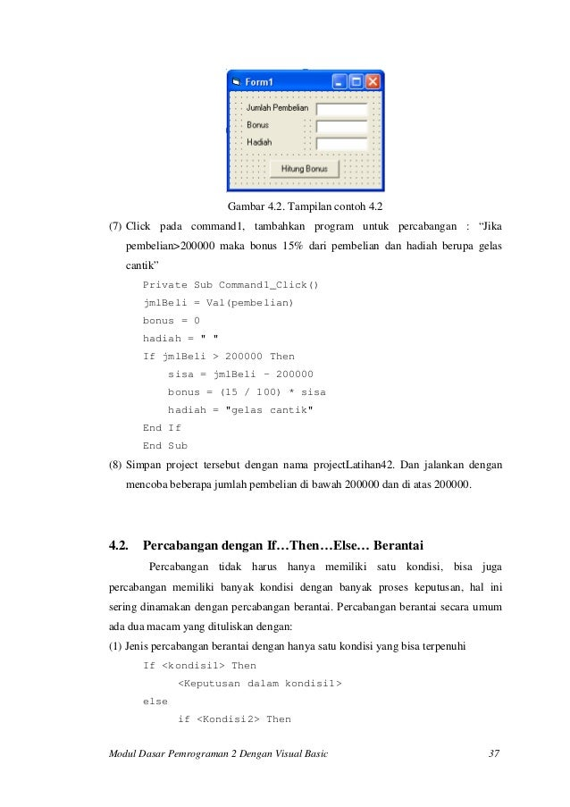 Ebook Mahir Visual Basic 6 Dari Dasar
