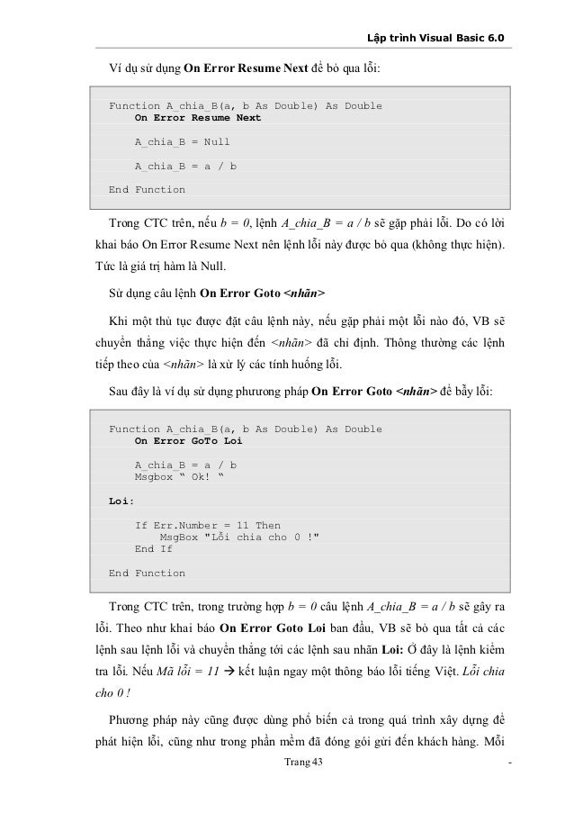 visual basic net on error resume next vb decompiler 104 a new