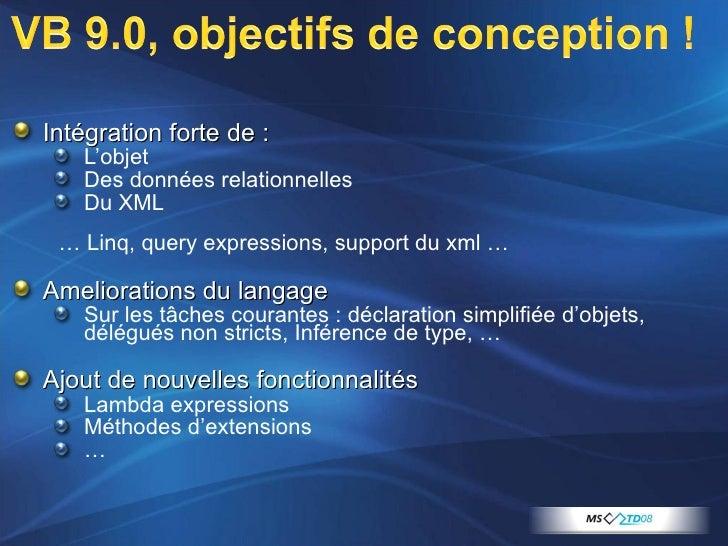 <ul><li>Intégration forte de : </li></ul><ul><ul><li>L'objet </li></ul></ul><ul><ul><li>Des données relationnelles </li></...
