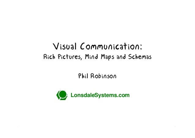 Visual Communication: Rich Pictures, Mind Maps and Schemas Phil Robinson LonsdaleSystems.com  LonsdaleSystems.com  1
