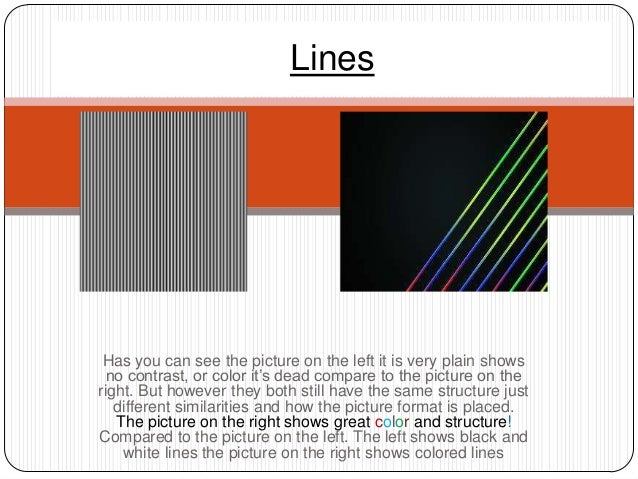 Lines Has you can see the picture on the left it is very plain shows  no contrast, or color it's dead compare to the pictu...