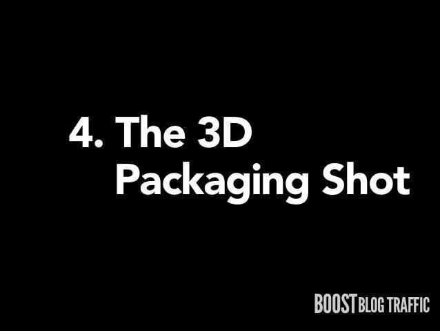4. The 3D  Packaging Shot BOOSTBLOG TRAFFIC