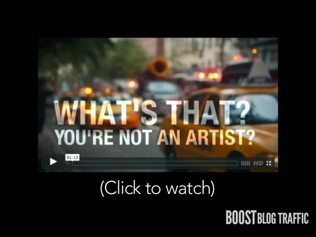(Click to watch)  BOOSTBLOG TRAFFIC