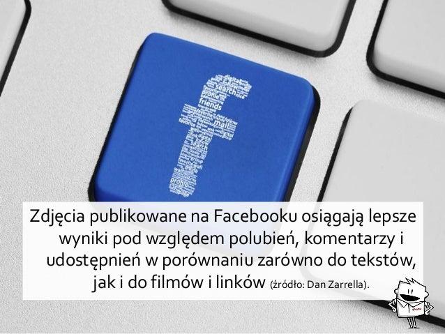Zdjęcia publikowane na Facebooku osiągają lepsze wyniki pod względem polubień, komentarzy i udostępnień w porównaniu zarów...