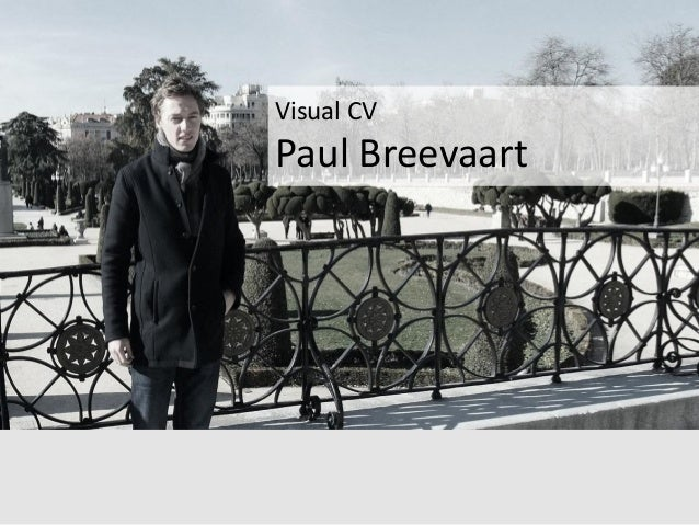 visual cv paul breevaart
