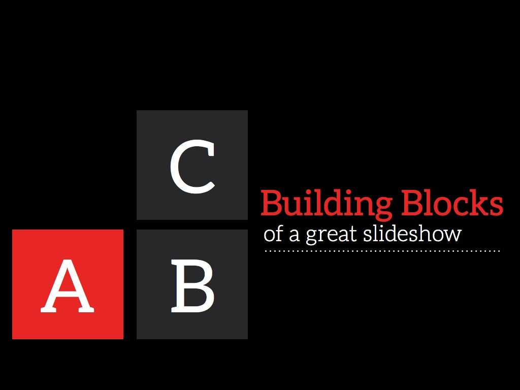 Visual Design Basics: The Building Blocks of a Great Slide