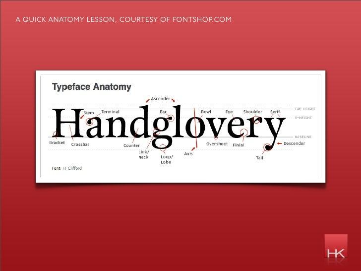 a quick anatomy lesson, courtesy of fontshop.com