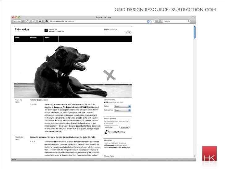 grid design resource: subtraction.com