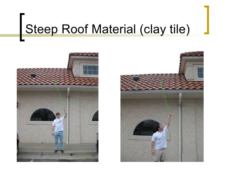 Steep Roof Material (clay tile)