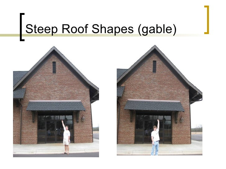Steep Roof Shapes (gable)