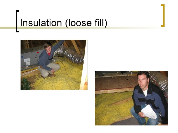 Insulation (loose fill)