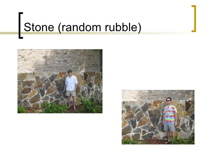Stone (random rubble)