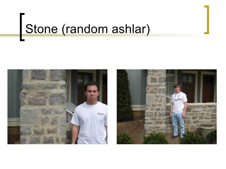 Stone (random ashlar)