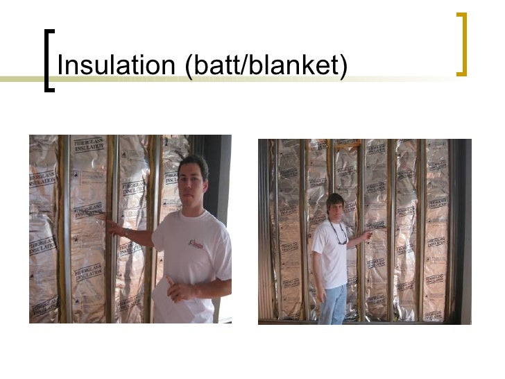 Insulation (batt/blanket)