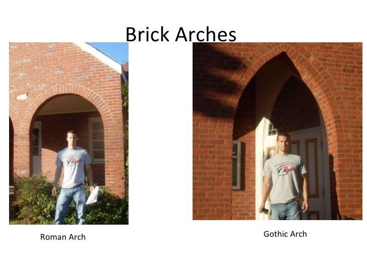 Brick Arches Roman Arch Gothic
